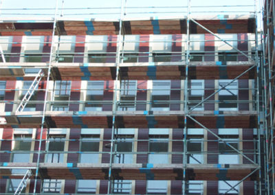 Mauer Wand Haus Gebäude Klinker aus Hamminkeln